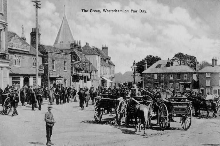 The Green on Fair Day - 1907