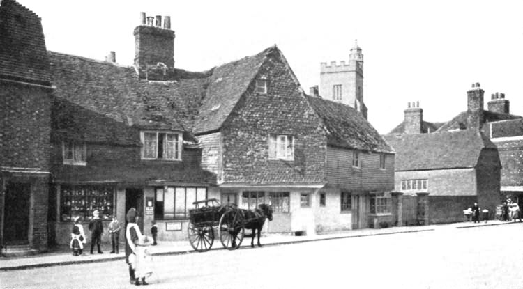 Old Post Office, Upper High Street - 1900
