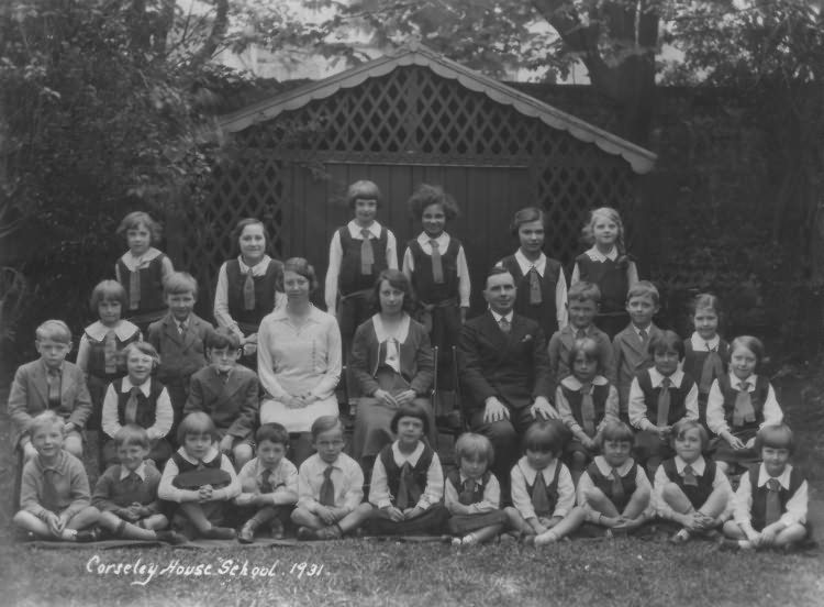 Corseley House School - 1931