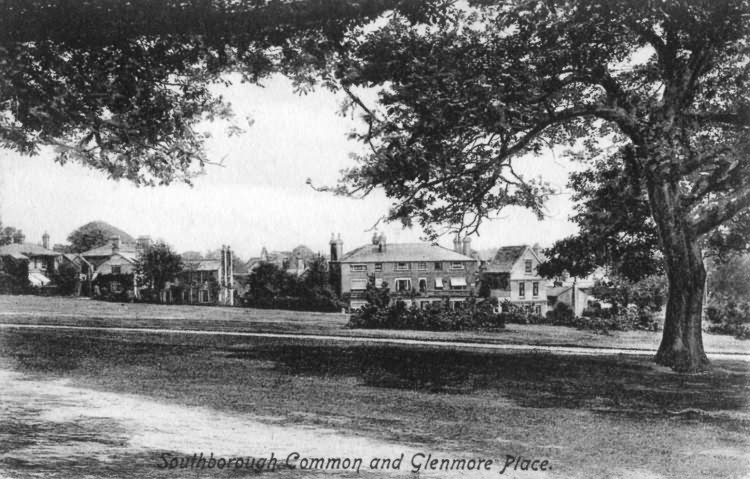 Southborough Common and Glenmore Place - 1915