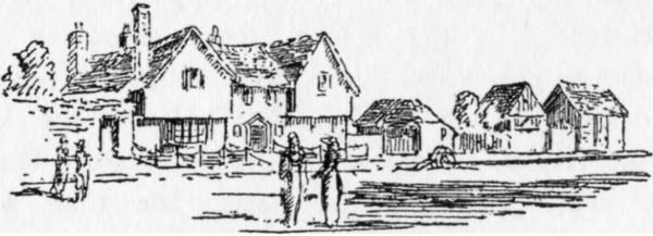 Bethlehem Farm House from a print of 1800 - 1900