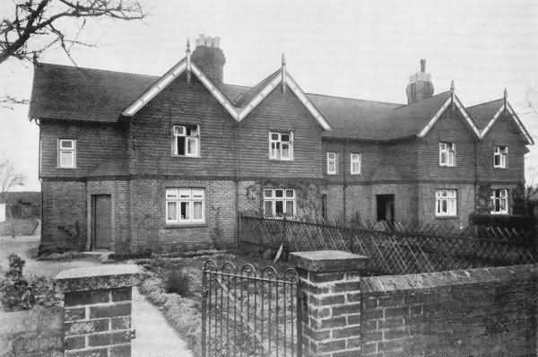 Modern Cottages, Hogg House Lane - 1930
