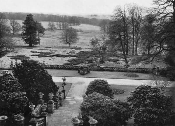 View from the Terrace, Buxted Park Estate - 1930