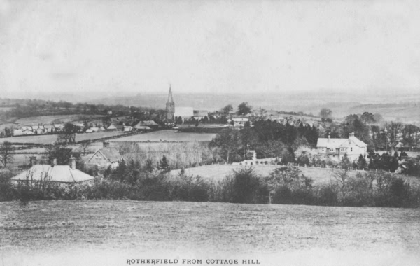 Rotherfield from Cottage Hill - 1905