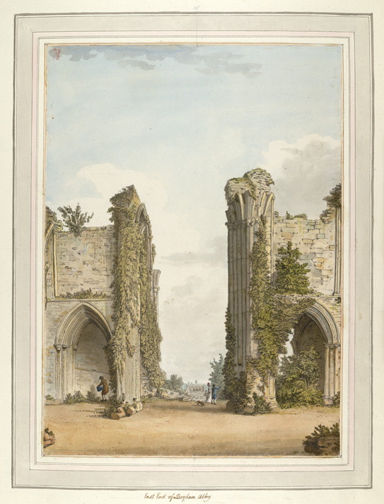East End of Bayham Abbey - 1783