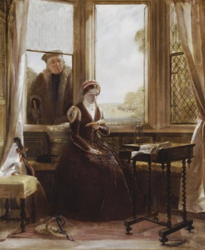 Lady Jane Grey and Roger Alscham - 1853