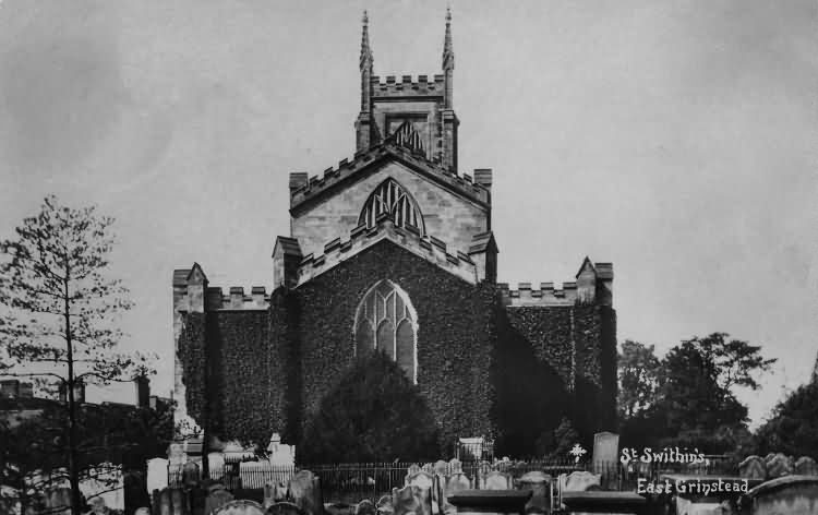 St Swithins Church - 1924