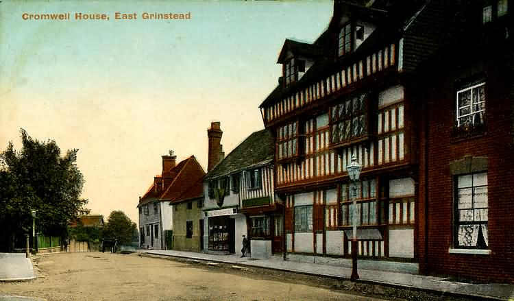 Cromwell House, High Street - 1913