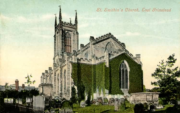 St Swithins Church - 1906