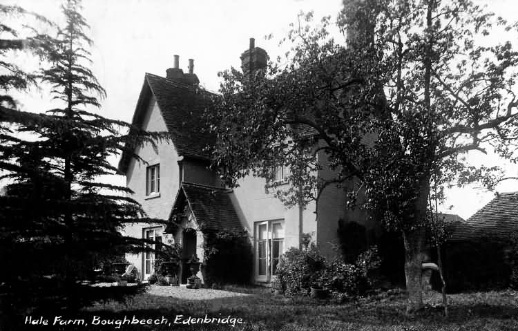 Hale Farm, Boughbeech - 1913