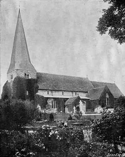 Fletching Church - 1904