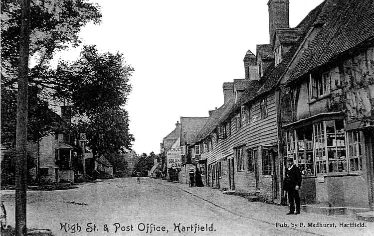 High Street and Post Office - 1905