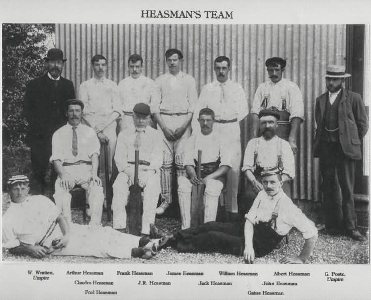 The Isfield Cricket Team - 1905