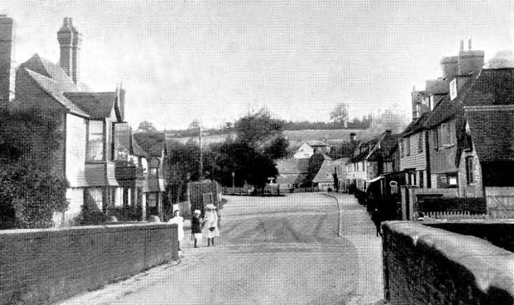 The Bridge, Sussex Side - 1906