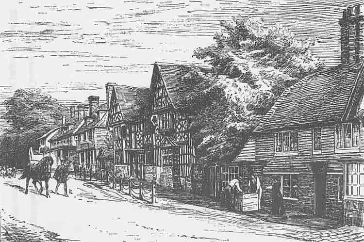 The Weald - Paintings, pictures, photographs and engravingsmayfield village