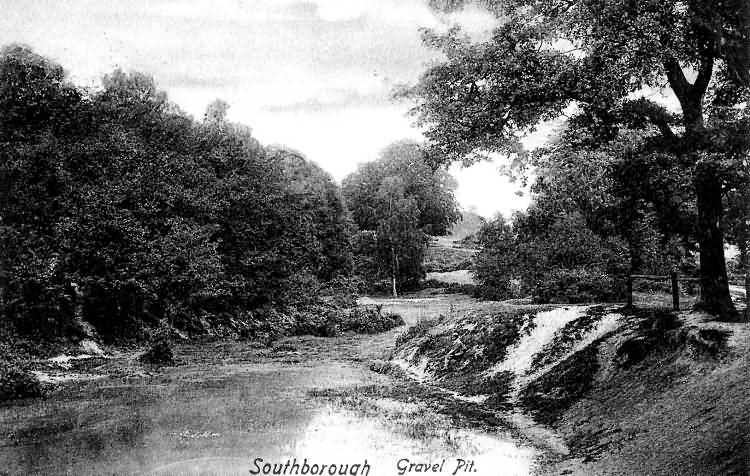 The Gravel Pit, Southborough - 1905