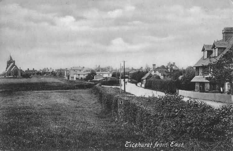 Ticehurst from the East - 1907