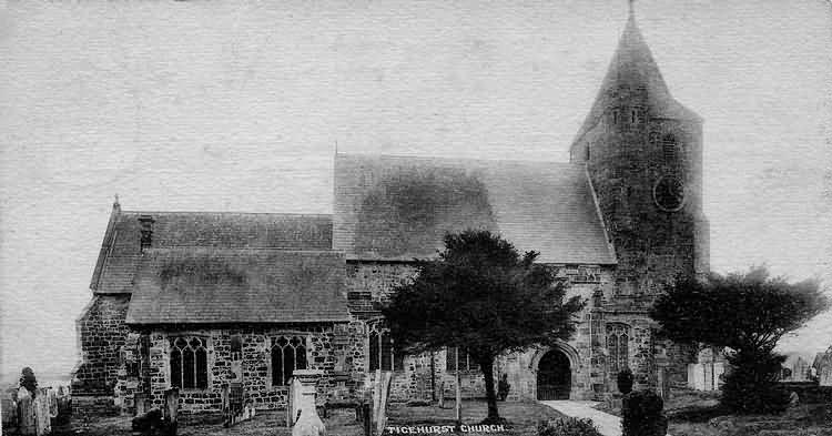 Ticehurst Church - 1903