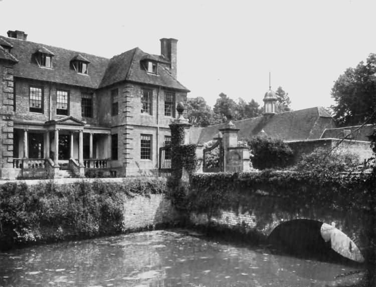 Groombridge Place - built by Philip Packer in Charles IIs reign - c 1930