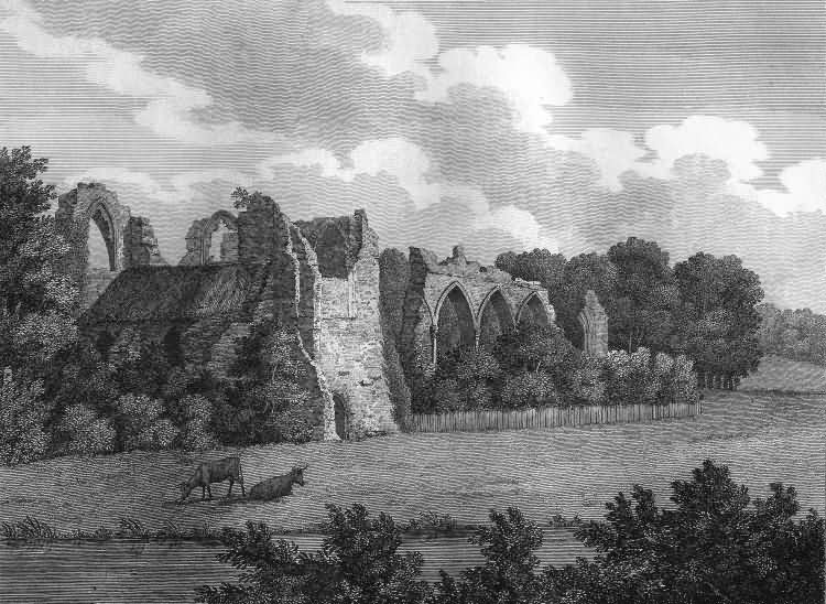 Bayham Abbey - 1809
