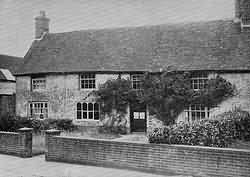 Thomas Turner's house in 1935