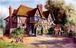 Speldhurst Old Inn in 1900